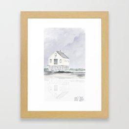 Cape Porpoise • Kennebunkport Framed Art Print