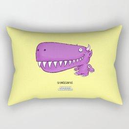 Growlasaurus Rectangular Pillow