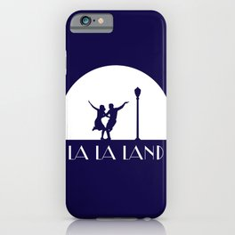 La la Land movie design iPhone Case