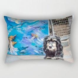 Artist's friend Rectangular Pillow