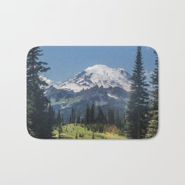 Mt. Rainer # 2 Bath Mat