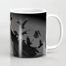 The woman with the ravens Coffee Mug