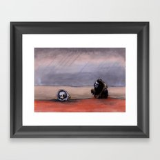 The Rust Coloured Soil: Thus Spoke Zarathustra Framed Art Print