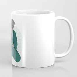 Meditating dog 3 Coffee Mug