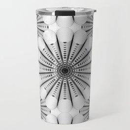 Geometric Abstract Shape Travel Mug
