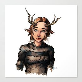 Antler Dance 22 Canvas Print