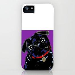 Pug of Gooberella iPhone Case