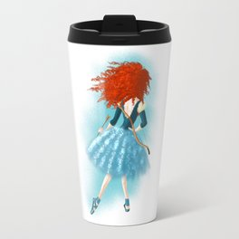 Red - Haired Lass Travel Mug