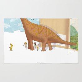Book Dinossaur Rug