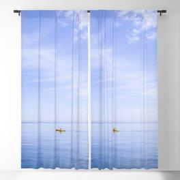 Kayaking in Heaven Blackout Curtain