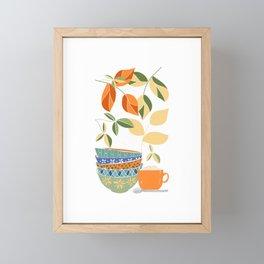 Happy Kitchen Framed Mini Art Print