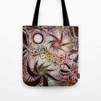 holiday Tote Bags featuring Holiday by Klara Acel