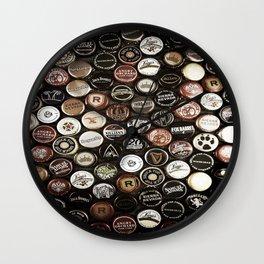 Bottle Caps Wall Clock