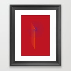 P like P Framed Art Print