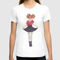 polka dots T-shirts featuring Polka Dots by ValeriaZ