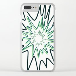 Firecracker. Clear iPhone Case