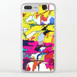 Color map Clear iPhone Case