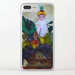 I dream of Fruits Clear iPhone Case