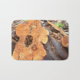 TEXTURES - Manzanita in Drought Conditions #2 Bath Mat