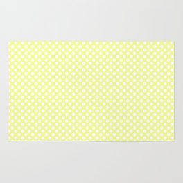 Polka Dots Pattern-Yellow Rug