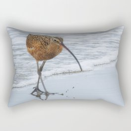 Long Billed Curlew Rectangular Pillow