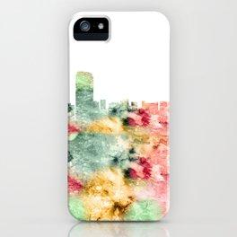 Grand Rapids Skyline Michigan iPhone Case