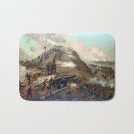 The Capture Of Fort Fisher Bath Mat