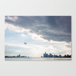 Detroit State of Mind Canvas Print