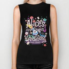 Alice's Adventures in Wonderland - Lewis Carroll Biker Tank