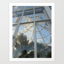 clouds in the greenhouse #2 Art Print
