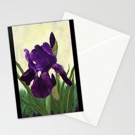 Purple Iris DP150530 Stationery Cards