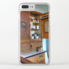 1930`s Kitchen Clear iPhone Case