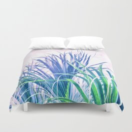 Pastel Palms Duvet Cover
