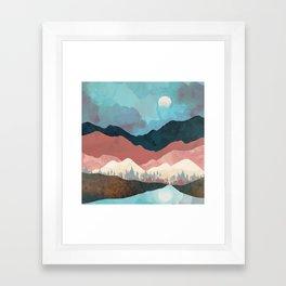 Fall Transition Framed Art Print