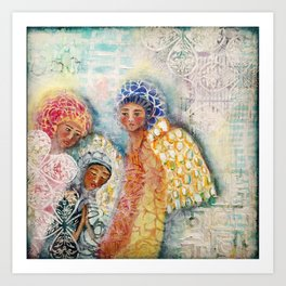 Presence of Angels  Art Print