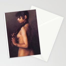 Nude Egyptian Girl by John Singer Sargent Stationery Cards