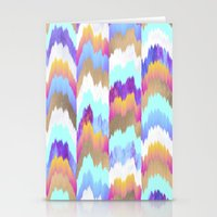 glitch Stationery Cards featuring Glitch by Elisabeth Fredriksson