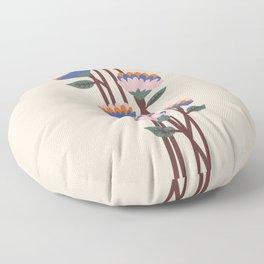 Henri Flowers Floor Pillow