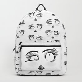 Weird Faces - LookUp Backpack