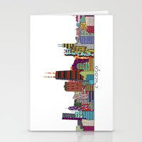 chicago Stationery Cards featuring Chicago  by bri.buckley