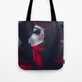 Miss Scarlet Tote Bag
