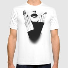 Grace Mens Fitted Tee White MEDIUM