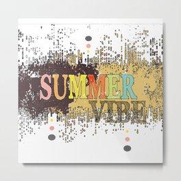 Summer Vibe 2 Metal Print