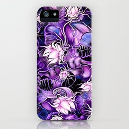 Ghost Lilies iPhone Case
