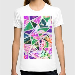 Pattern marbles T-shirt