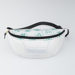Social Media Can Wait Time For Chemistry Fanny Pack