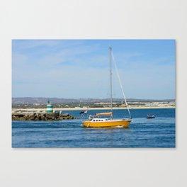 Port exit, Tavira Canvas Print