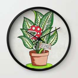 Poisonous Wall Clock