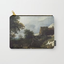 Jacob van Ruisdael - A Bleaching Ground in a Hollow by a Cottage Carry-All Pouch