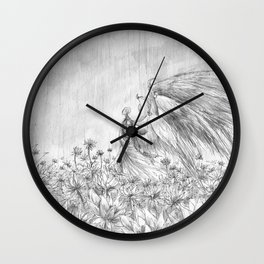 Silence- A Fable Wall Clock